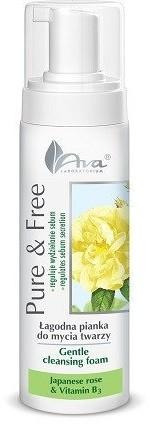 Ava Labolatorium Laboratorium Pure&Free pianka do mycia róża japońska 150ml