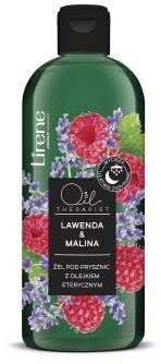 Lirene LAWENDA & MALINA Żel pod prysznic z olejkiem eterycznym, 400 ml 10E08241-01-01