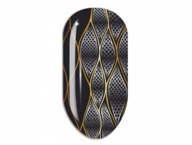 Nail Art Mollon Pro Stikers Mollon Pro J086 naklejki do zdobienia