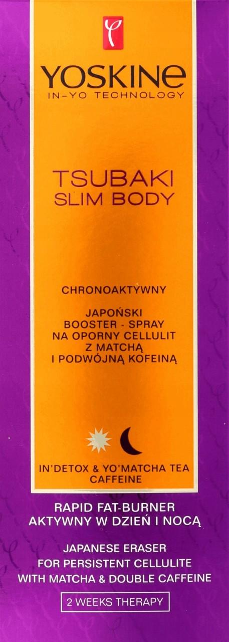 Yoskine Slim Body Spray Na Oporny Cellulit Kofeina