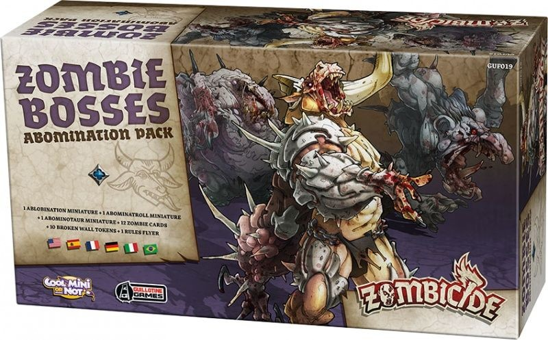 Portal Zombicide: Zombie Bosses Abomination Pack