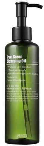 PURITO PURITO From Green cleansing oil Delikatny olejek do demakijażu 200ml