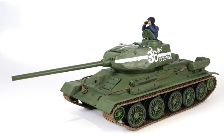 Waltersons Czołg zdalnie sterowany T-34/85 1:24