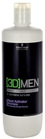 Schwarzkopf 3D MEN SZAMPON AKTYWIZUJĄCY 1000ML