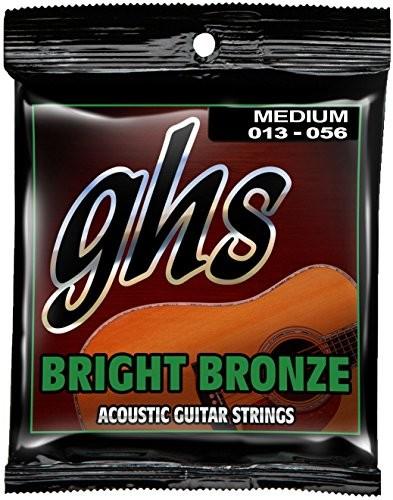 ghs GHS BB40M 1356średni Bright z brązu zestaw strun w dziedzinie akustyki gitara BB40M