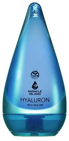 Żel do twarzy i ciała z kwasem hialuronowym 99% 250 ml Miracle Island M00-DED7-780D1