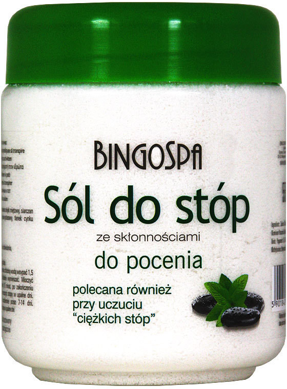 BingoSpa Sól do stóp ze skłonnością do pocenia 5901842000119