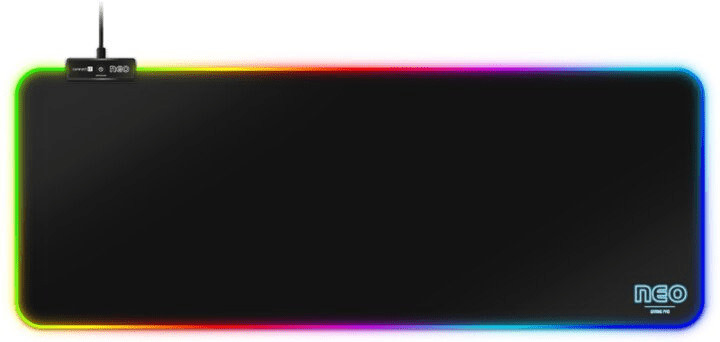 Connect IT podkładka pod mysz i klawiaturę Neo RGB L CMP 3100 LG)