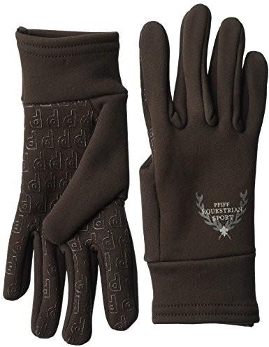 Pfiff rękawiczki jeździeckie, brązowy, S 101390-50-S