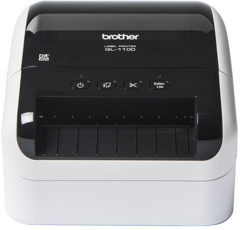 Brother etykiet QL-1100 101,6 103,6 mm) QL1100YJ1) QL1100YJ1
