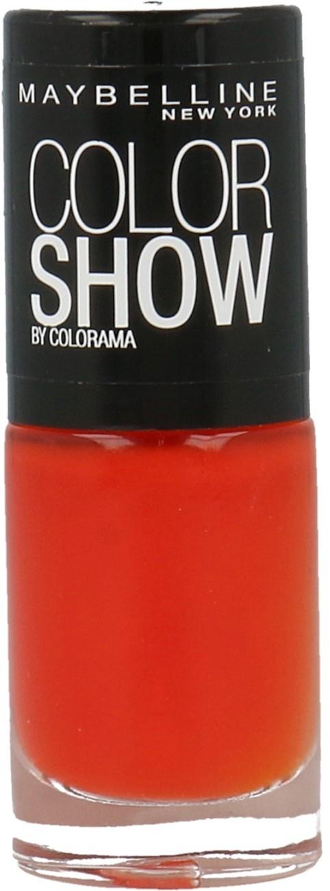 Maybelline Color Show Seria Colorama Lakier Do Paznokci 341 Orange Attack 30096967
