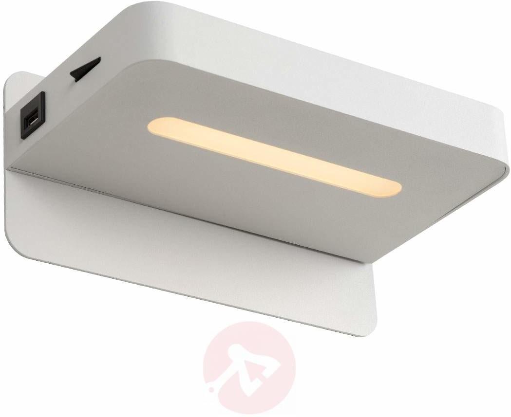 Lucide lucide atkin-łóżko lampa LED, metal, zintegrowana, 5W, 14x 25x 11.5cm [klasa energetyczna A + + +] 77280/05/31