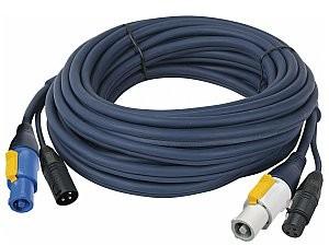Dap Audio DAP Powercon / XLR Przedłużacz Audio i zasilania 150cm 90901