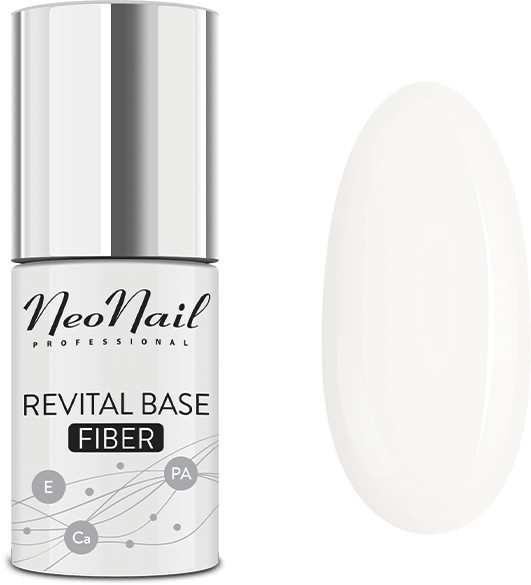 NeoNail Baza hybrydowa Revital Base Fiber Milky Cloud 7,2 ml