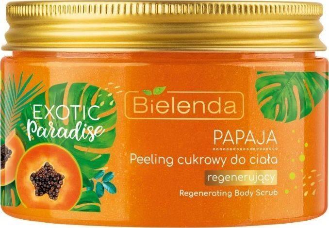 Bielenda EXOTIC peeling cukrowy Papaja 350g 52571-uniw