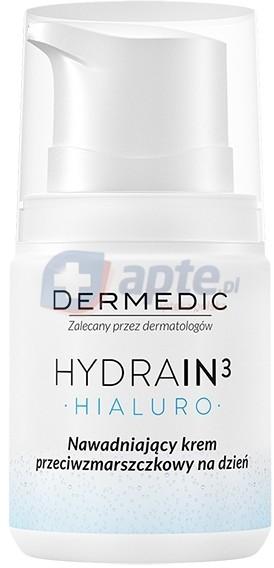 Dermedic HYDRAIN 3 Hialuro Nawadniający Krem na przeciwzmarszczkowy na dzień 50ml