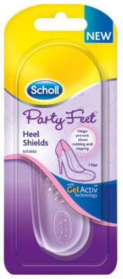 Scholl Reckitt Benckiser Party Feet Heel Shields Poduszki żelowe na pięty, 1 szt