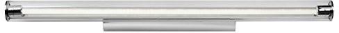 Lucide lucide Matthew-lampa ścienna LED-1X 18W 3000K-IP21, aluminium, zintegrowane, 18W, satynowa chromowana, 90x 11x 6cm 48201/18/12