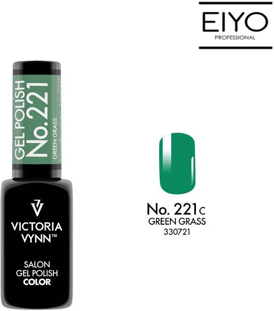 Victoria Vynn Lakier hybrydowy GEL POLISH COLOR Green Grass nr 221 8 ml NOWOŚĆ! 330721