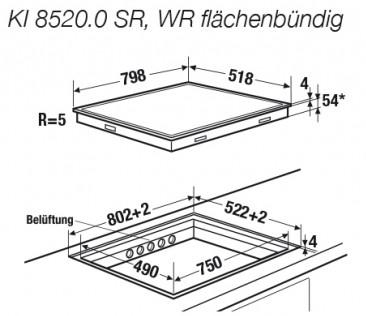 Kuppersbusch KI 8520.0 SR