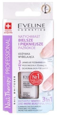Eveline Nail Therapy Nail Whitener 3w1 odżywka wybielająca do paznokci 12ml 47073-uniw