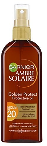 Garnier Ambre Solaire Golden Protect słońca i oleju kolory skóry 3600540873583