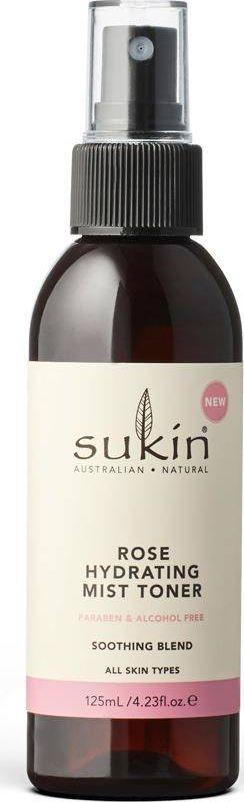 Sukin Sukin Sukin Nawilżająca mgiełka tonizująca Hydrating Mist Toner Rose 125ml SUK07309