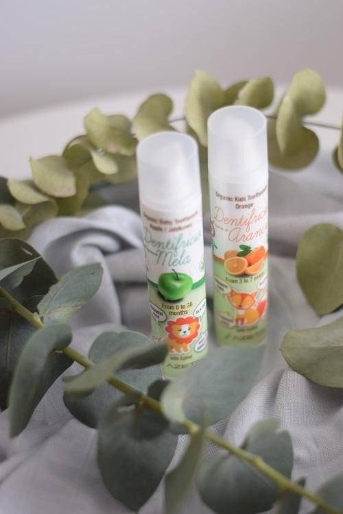 Azeta Azeta Bio Organiczna jabłkowa pasta do zębów dla dzieci w wieku 0-3 lat 50ml