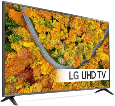 LG 50UP75003LF czarno-grafitowy (50UP75003LF.AEU)