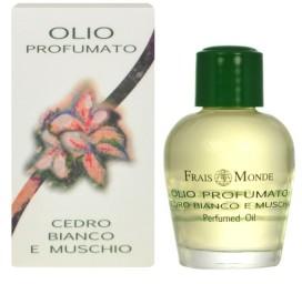 Frais Monde Frais Monde White Cedar And Musk olejek perfumowany 12 ml dla kobiet 41408