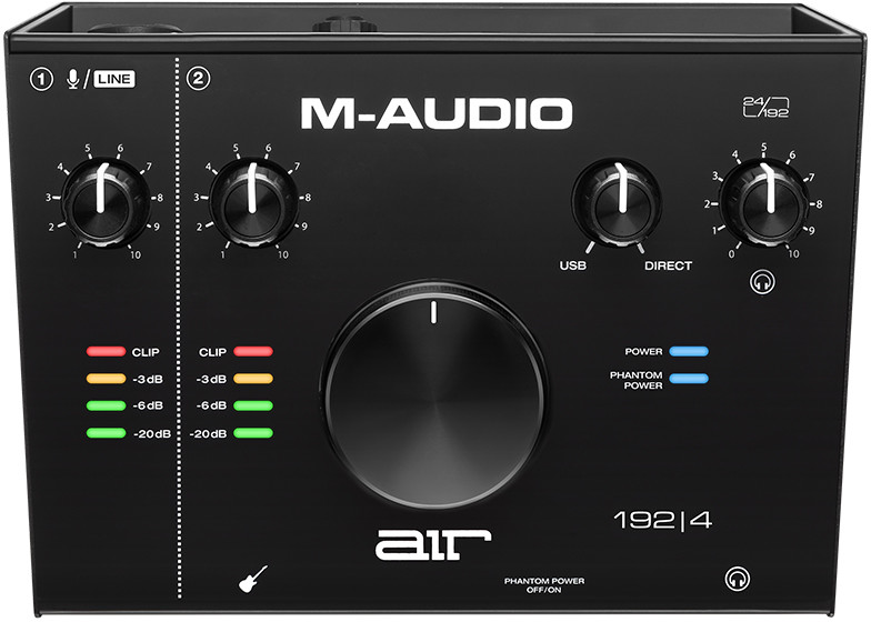 M-Audio AIR 192/4 - Interfejs Audio USB + kurs