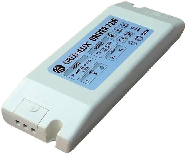 Greenlux Greenlux GXLD019 - LED Transformator elektryczny 72W/12V