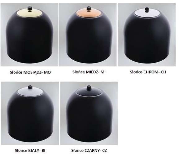 Shilo LAMPA wisząca DOBO 9038/E14/CZ/kolor metalowa OPRAWA modernistyczny zwis 9038/E14/CZ/kolor