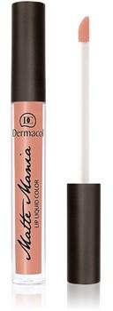 Dermacol Matte Mania matowa szminka odcień 12 3,5 ml