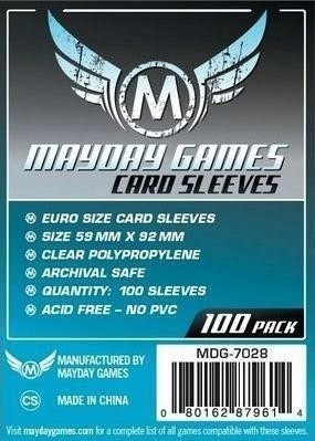 Mayday Games Koszulki Standard Euro 59x92