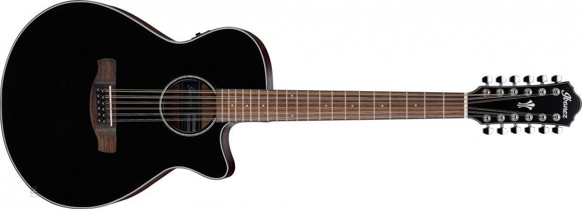 Ibanez AEG5012-BKH Gitara 12 strunowa
