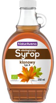 NATURAVENA NATURAVENA SYROP KLONOWY 250ML BIO Zakupy dla domu i biura! 47851860