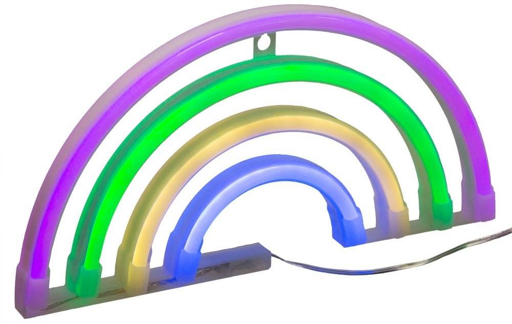 Atmosphera for kids Tęcza plastikowa podświetlana wielobarwnymi diodami LED to sposób na ożywienie każdego pomieszczenia 158501