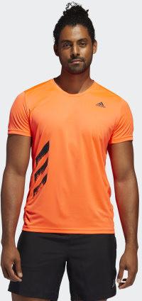 Adidas Run It 3-Stripes PB Tee