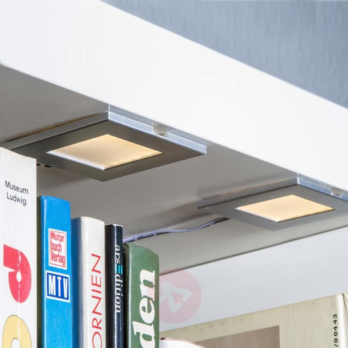 Nino Leuchten Zestaw dwóch opraw podszafkowych LED Cabinet