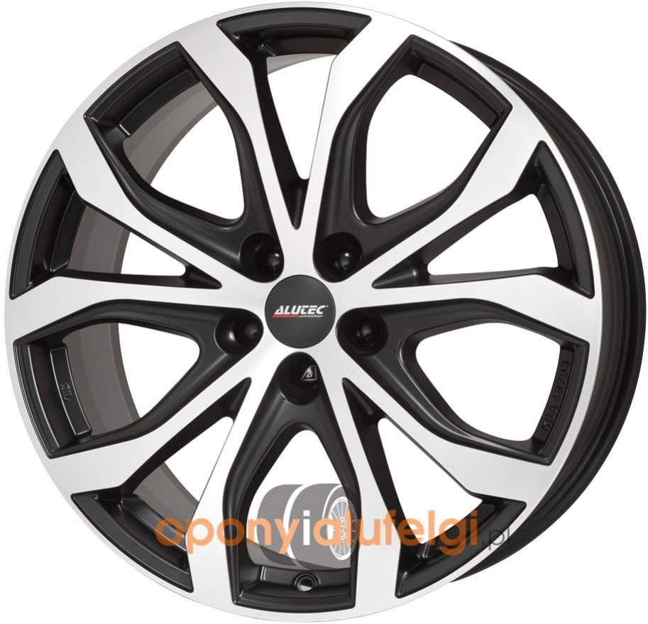 Alutec W10X RACING BLACK FRONTPOLISHED 8.50x19 5x108 ET40 DOT W10X-85940F53-5
