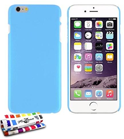MUZZANO Smukła twarda etui ochronne etui do telefonu Apple iPhone 6s Plus [LE Pearls Premium] [Laguna Niebieski] muzzano + PDA i ściereczka z mikrofazy muzzano gratisDas ultimative, eleganckie i trwałe etui CASPERIA ORIGINAL  F2655397