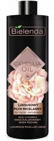 Bielenda BIELENDA Camellia Oil Luksusowy płyn micelarny do mycia i demakijażu 500 ml BIEL-0118