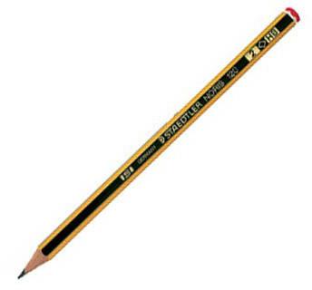 Noris Ołówek biurowo - szklony drewniany 2H 120-4 STAEDTLER (drewno cedrowe)