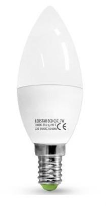 Brilum LED Żarówka LEDSTAR C37 E14/7W/230V 4000K