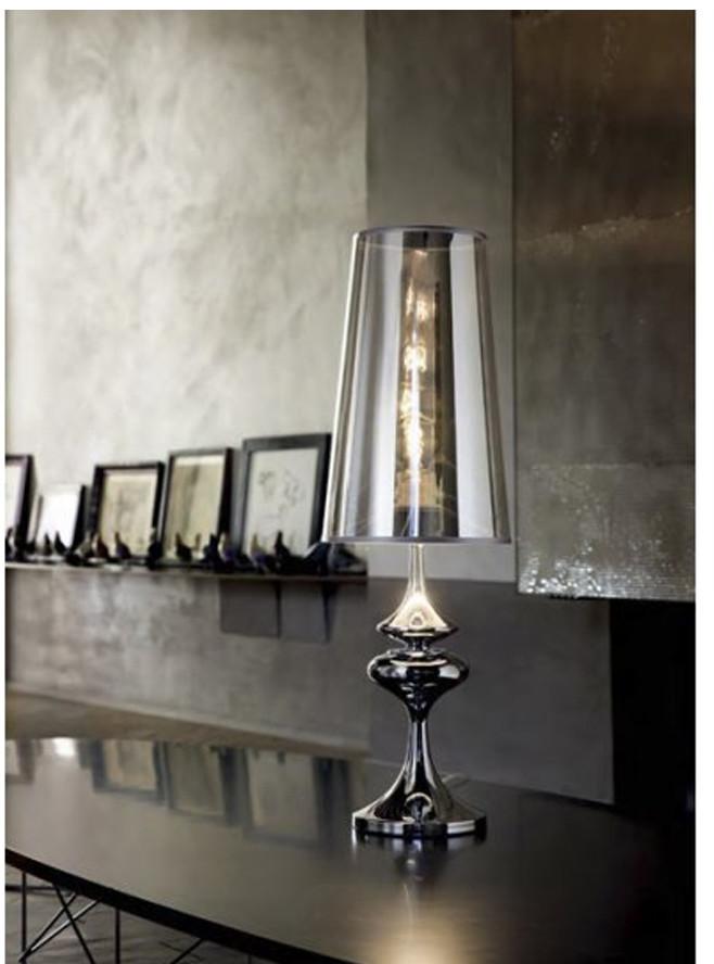 IDEAL LUX Lampa Biurkowa Alfiere Tl1 Small 032467 Średnica 17,5 Wys. 55,5