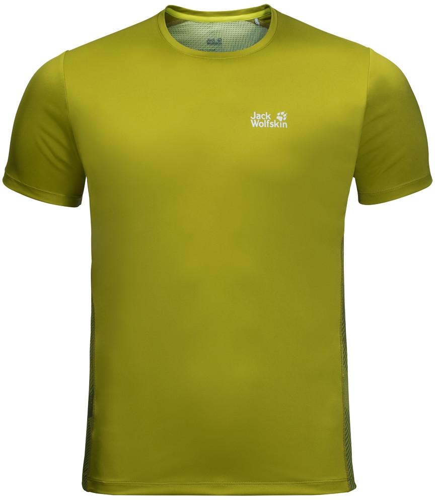 Jack Wolfskin Koszulka WILDERNESS T M eucalyptus green