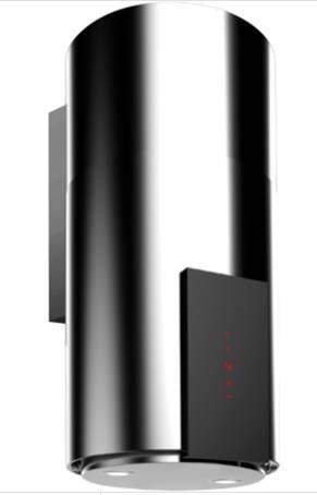 VDB TUBE P GLASS Inox 39