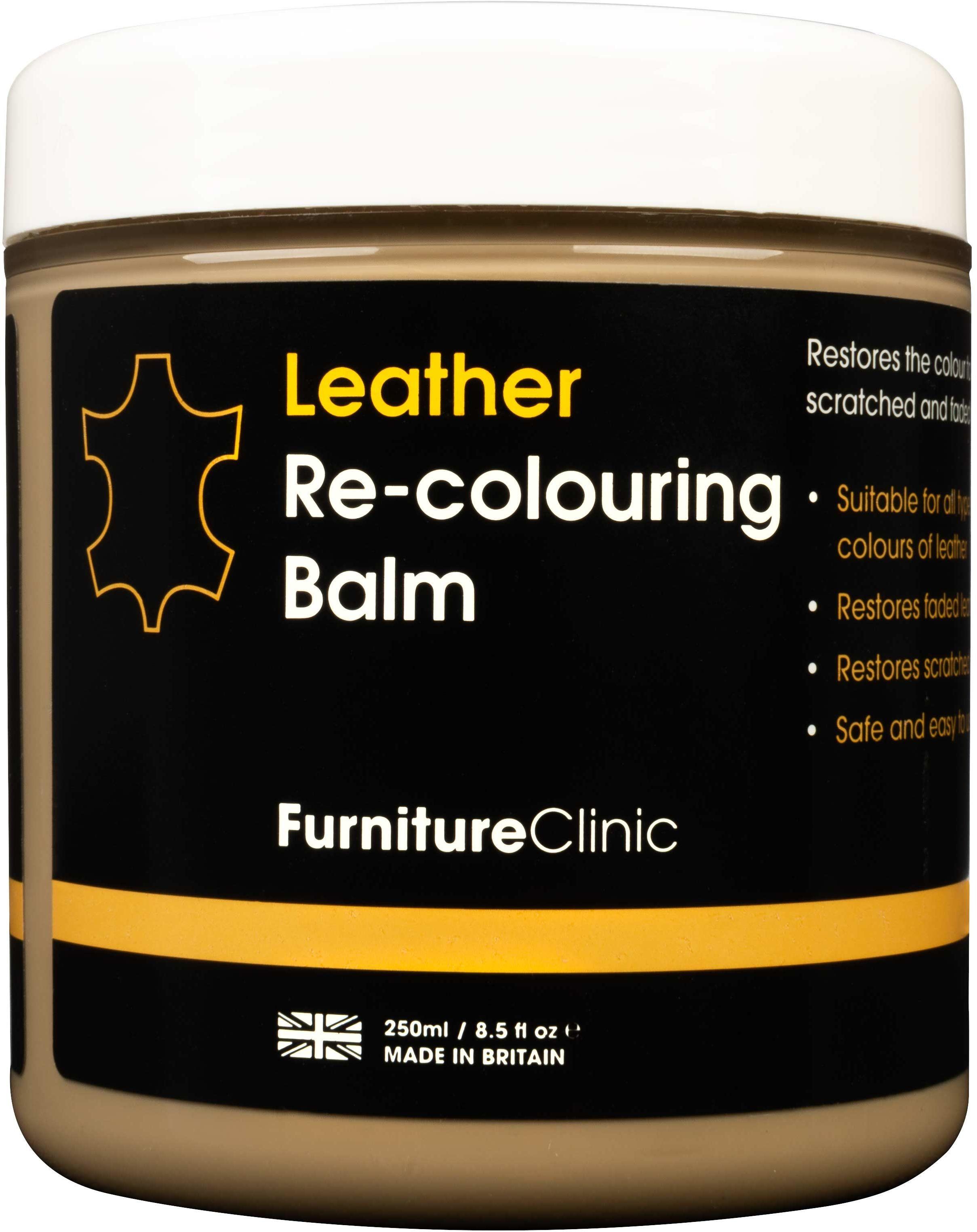 Furniture Clinic Leather Re-Colouring Balm balsam koloryzujący BEIGE 250ml FUR000013