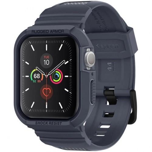Spigen Etui z paskiem Rugged Armor Pro Apple Watch 5/4 - 44mm, grafitowe 8809685626824